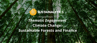 sustainable forests and finance